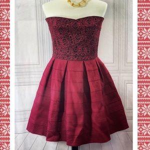 Francesca's Strapless Miami Party Dress
